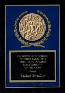 2015 Most Outstanding Male Athlete