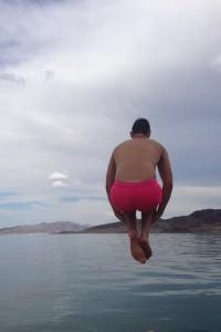 Lukas jump lake